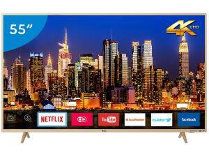 "Smart TV 4K LED 55"" Philco PTV55F61SNC - R$1995"