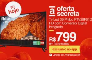 [APP] TV LED 39 Philco PTV39F61D HD | R$799