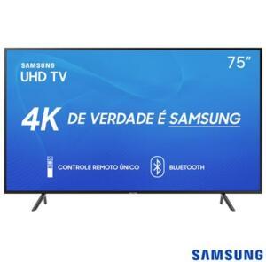 "Smart TV Samsung UHD 4K 2019 RU7100 75"""