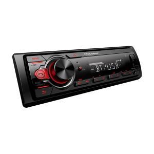 Som Automotivo Pioneer MVH-S218BT Preto Bluetooth USB Frontal Aux AM e FM