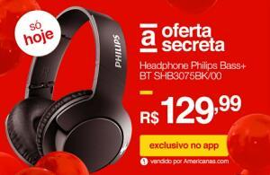 Headphone Philips Bass+ Bluetooth