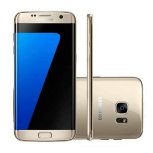 Smartphone Samsung Galaxy S7 Edge Dourado 32GB | R$1.709