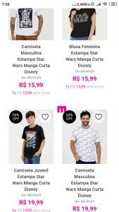 Lista atualizada! Produtos Star Wars em promoção na Marisa