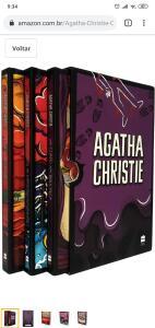 Agatha Christie Box 1 - Frete Grátis