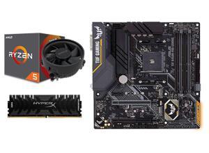 Kit Upgrade Placa Mãe Asus Tuf B450m-pro Gaming + Processador Amd Ryzen 5 3600 3.6ghz + Memória Ddr4 Kingston Hyperx Predator R$1949