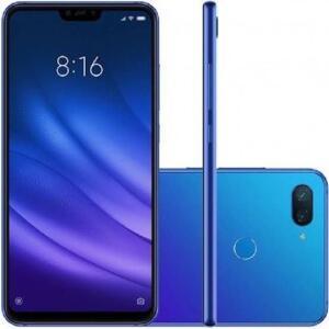 Smartphone Xiaomi MI 8 Lite 128GB Versão Global Desbloqueado - Azul | R$1.078