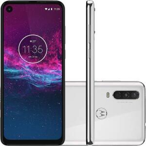 [AME R$ 1200] - Motorola One Action - Branco Polar