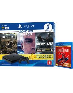 [CC Submarino + Ame] Console Playstation 4 Slim 1TB Hits Bundle 5 + Game Spider-Man - R$ 1728,00