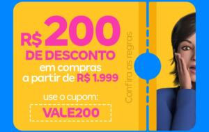 R$200 Off a partir de R$1.999 na Magazine Luiza