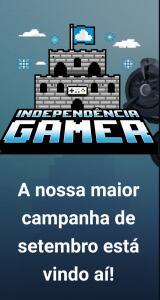 Independência Gamer- Mais de 1500 Jogos com até 90% OFF