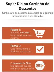 30% em vários produtos na Amazon