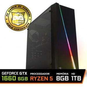 PC GAMER RYZEN 5 2600 / GTX 1660 6GB DUAL FAN / 8GB 3000MHz