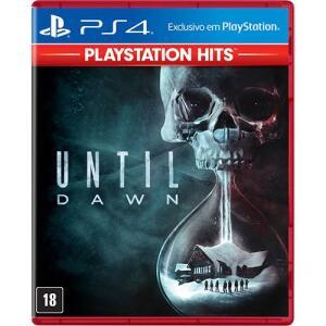 [Primeira Compra] Game Until Dawn Hits - PS4   R$34