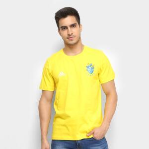 Camisa Adidas - Amarelo e Azul