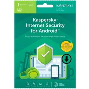 Antivírus Kaspersky internet security para Android - R$10