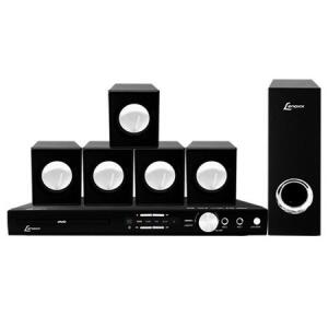 Home Theater DVD Lenoxx, USB, Karaokê, 270W RMS - HT723   R$299
