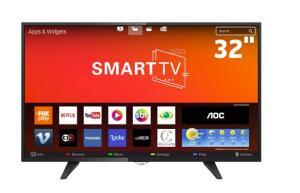 """Smart TV LED 32"""" HD AOC LE32S5970 - R$699"""