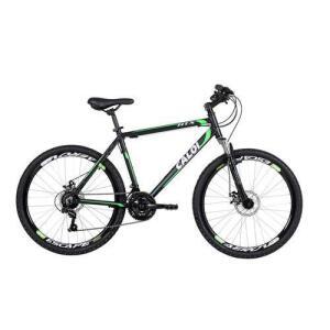 Bicicleta Mtb Caloi Htx Disc Aro 26 21 Velocidades - Preto R$899