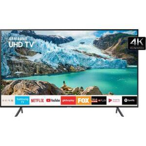 "[CC Sub] Smart TV LED 58"" Samsung 58RU7100 Ultra HD 4K com Conversor Digital 3 HDMI 2 USB"