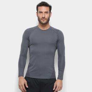 Camiseta Adidas Alphaskin Sport Manga Longa - Tam. G  | R$80
