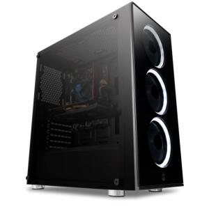 PC GAMER - I3-9100F / RX 580 4GB SAPPHIRE NITRO+ / 8GB 2666MHz / HD 1TB / 500W
