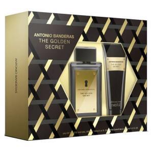[CC SUB]  Kit Perfume Antonio Banderas The Golden Secret 100ml + Pós Barba 75ml