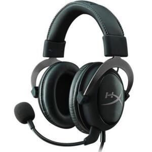 Headset Gamer HyperX Cloud II 7.1 - KHX-HSCP-GM - Preto   R$430