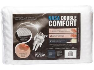 Travesseiro Viscoelástica - Fibrasca NASA Double Comfort | R$15