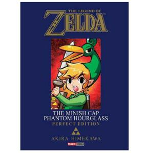 Mangá The legend of Zelda the minish cap / phantom hourglass - R$17
