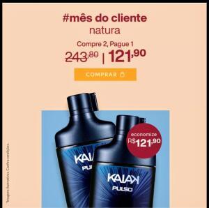 Kit Colônia Kaiak Pulso | R$106