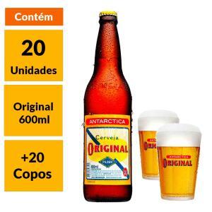 Kit Cervejeiro Original 600ml + Copo | R$170