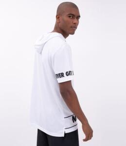 Camiseta Esportiva com Capuz e Bolso