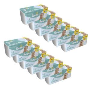 Kit de Lenços Umedecidos Pampers Fresh Clean - 1152 Unidades | R$143