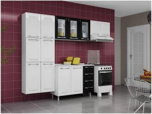 Cozinha Compacta Itatiaia Criativa MXII - 11 Portas Aço R$ 626