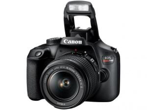 Câmera Digital Canon Semiprofissional - EOS Rebel T100 Wi-Fi | R$1.169