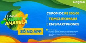CUPOM DE R$ 200,00 OFF EM SMARTPHONES