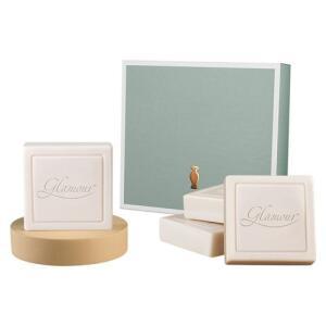 Kit Presente Glamour: 4 sabonetes em barra | R$20