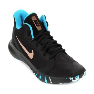 Tênis Nike Precision III - Preto e Bronze | R$218