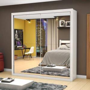 Guarda-Roupa Salvador Premium com Espelho - Mezzanine | R$704