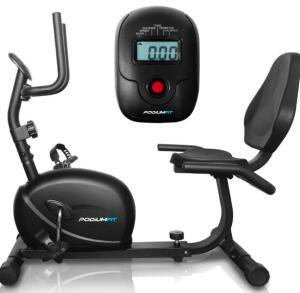 Bicicleta Ergométrica Horizontal PodiumFit H100 Magnética R$900