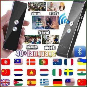 [Envio Internacional] Tradutor de voz portatil T8 - R$206