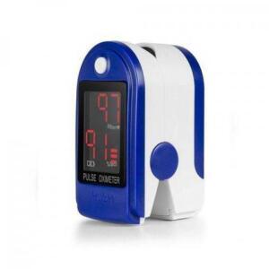 Kit Oximetro Digital Medidor de Saturação de Oxigênio no Sangue com Pilhas Inclusas - Ebai