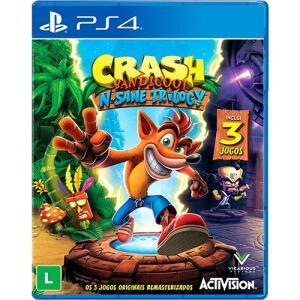 Crash Bandicoot N'sane Trilogy - PS4 (Cartão Sub + Ame + Cupom)