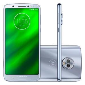 Smartphone Motorola Moto G6 Plus, 64GB, 12MP, Tela 5.9´, Topázio - XT1926 - R$819