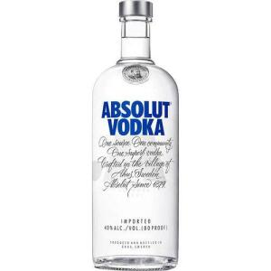 Vodka Absolut Natural 1 Litro R$50