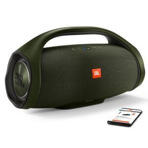 Caixa de Som Portátil JBL Boombox Bluetooth à Prova d'água - Verde
