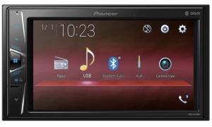 "Central Multimídia Pioneer MVH-G218BT LCD 6,2"" - Touch Bluetooth USB Auxiliar - R$500"