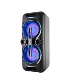 Caixa Acústica Portátil Philco - Bluetooth, Entrada Auxiliar, USB, Microfone, Bivolt - PCX8000
