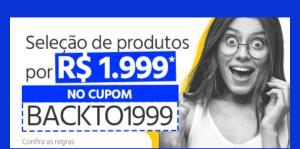(Submarino) CUPOM - Seleção de produtos por 1.999