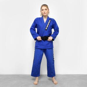 Kimono Jiu Jitsu Bad Boy Competidor - Azul | R$140
